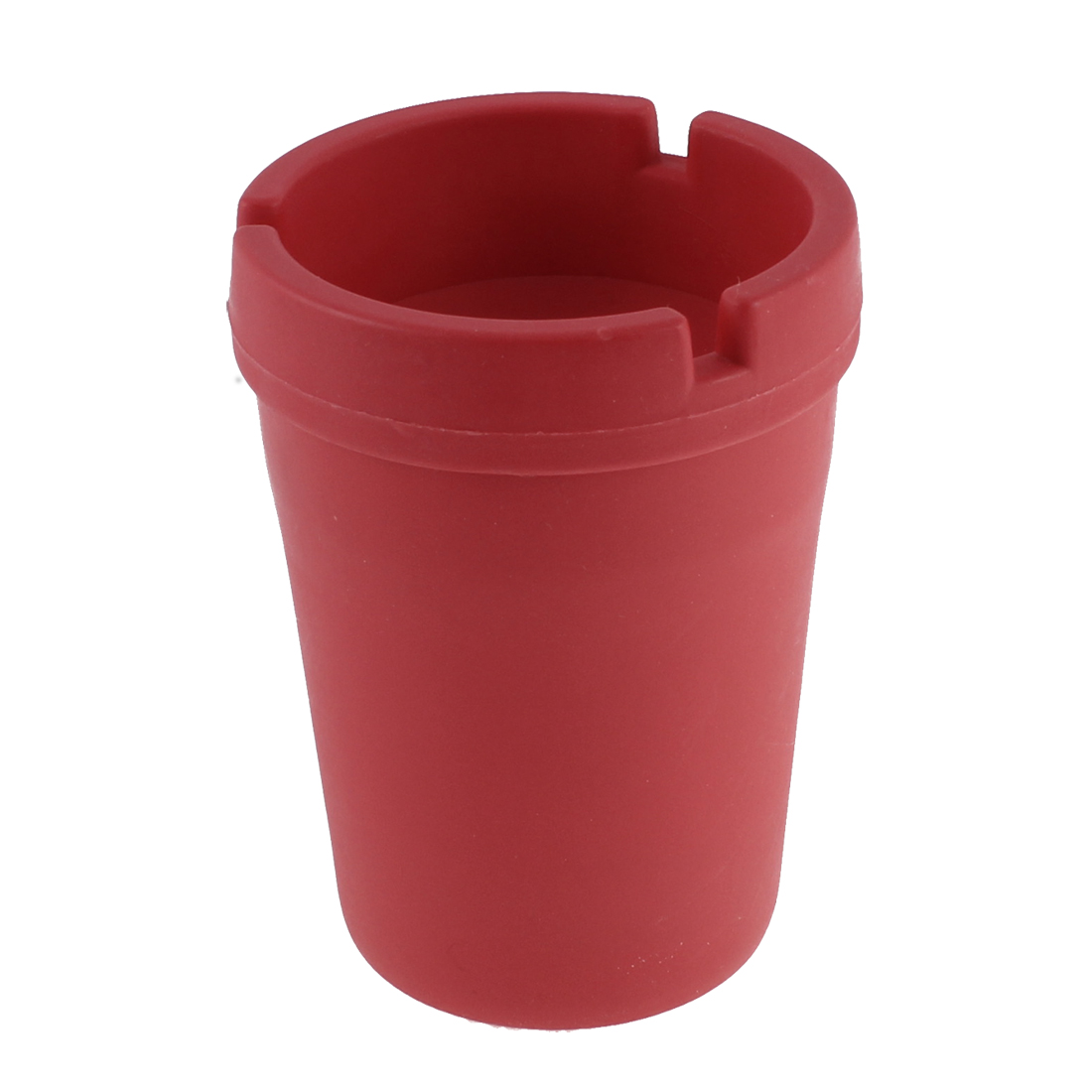 Outdoor Auto Car Extinguishing Butt Bucket Cigarette Ashtray Holder Red