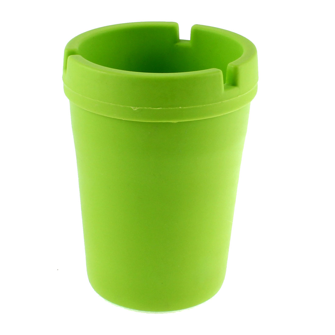 Home Office Outdoor Car Plastic Extinguishing Butt Bucket Ashtray Green