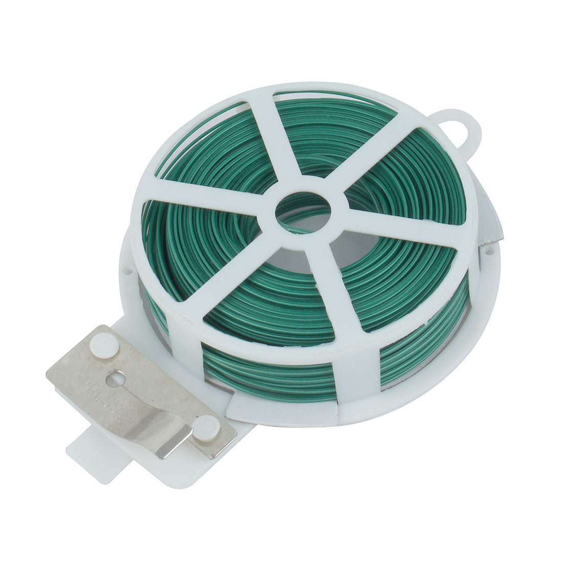 Tie Twist Roll Strapping Wire Tape Cutter Green for Gardening Packing Crafts