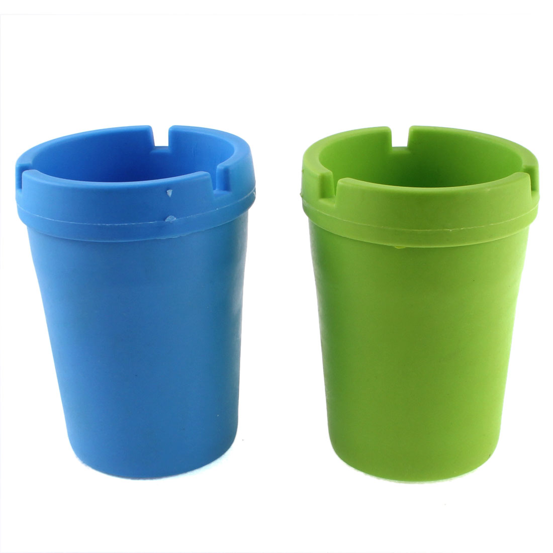Car Extinguishing Butt Bucket Cigarette Ashtray Holder Pot 2 Pcs