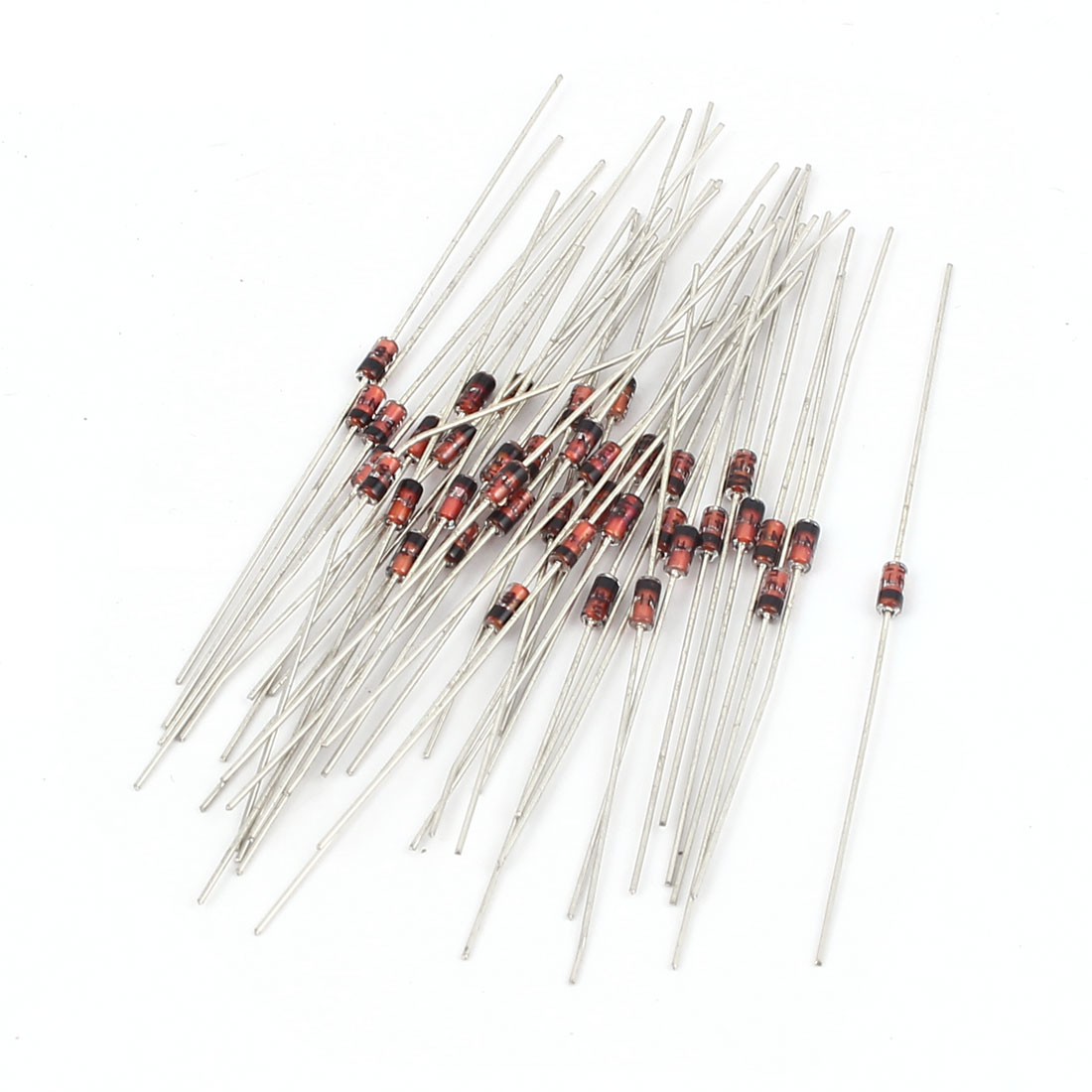 40 Pcs IN4148 Glass Sealed Small Signal Switching Schottky Diodes 75V 150mA