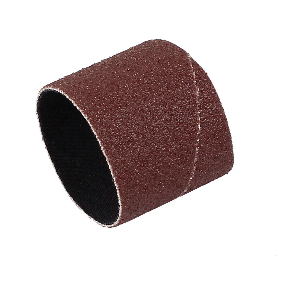 25.4mm Diameter 120 Grit Abrasive Cloth Spiral Band Sleeves Rolls