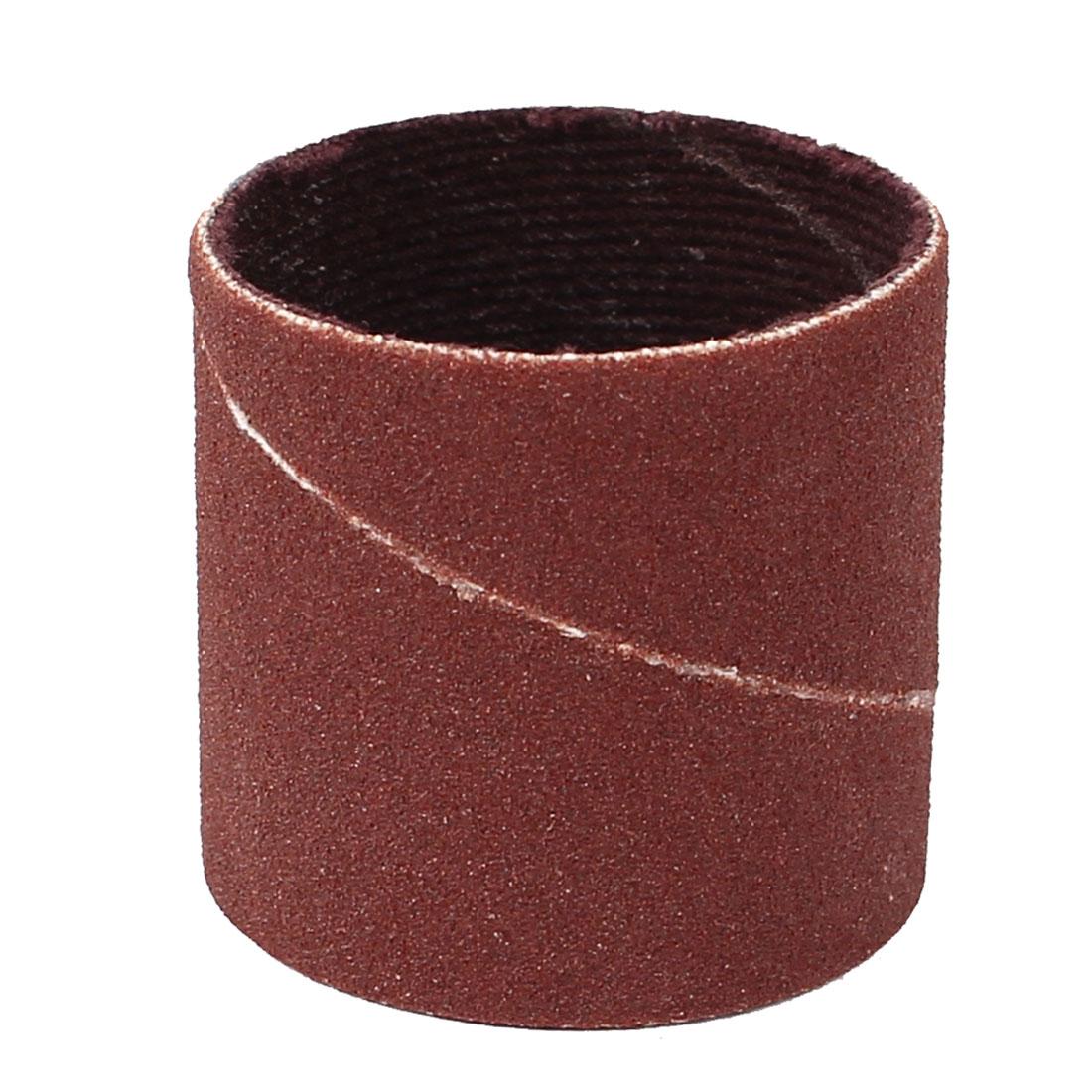 25.4mm Diameter 240 Grit Sanding Drums Abrasive Spiral Band Sleeves Rolls