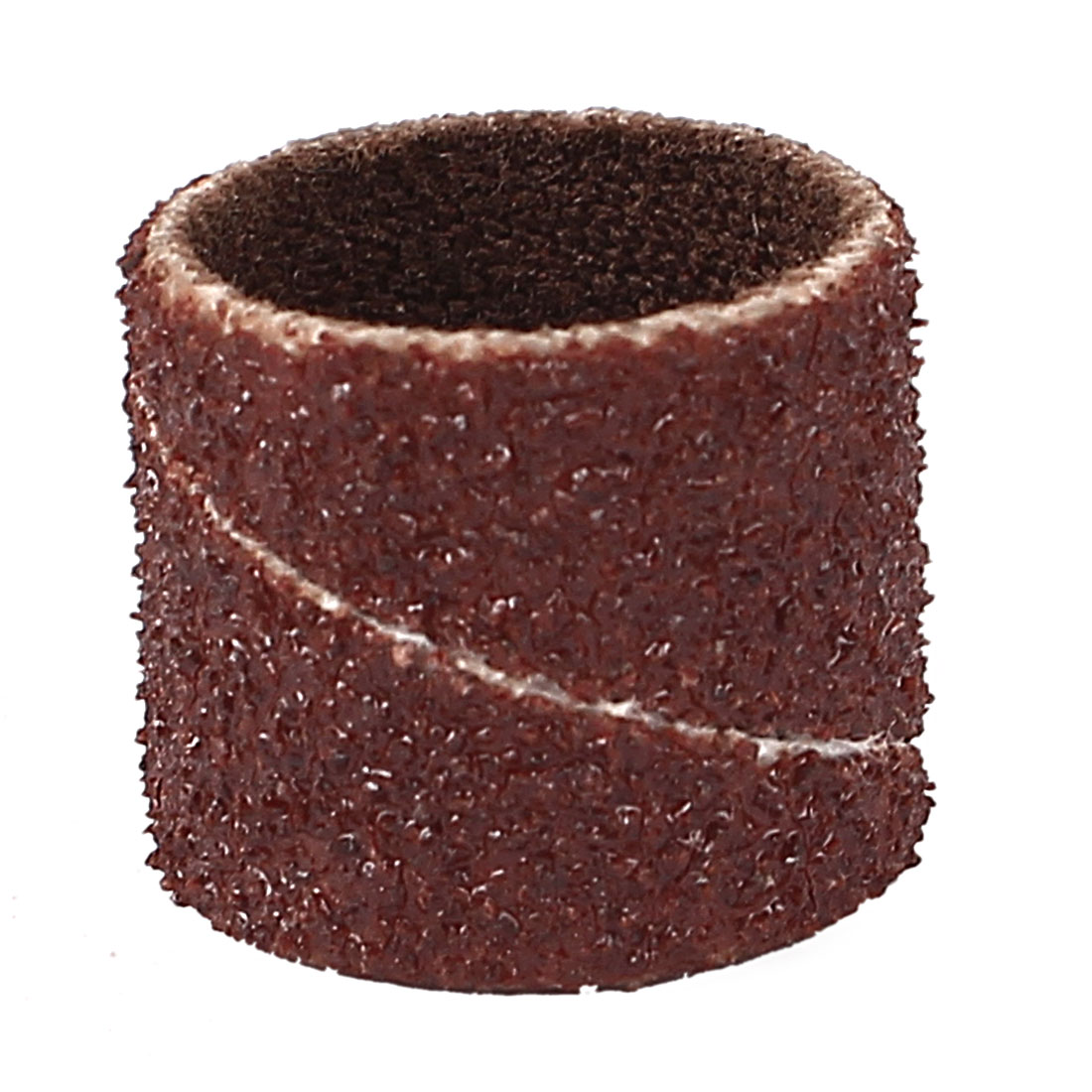 12mm Diameter 80 Grit Sanding Drums Abrasive Spiral Band Sleeves Rolls
