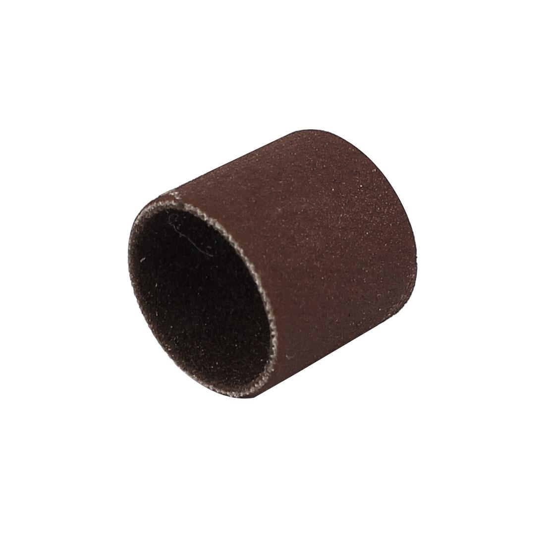 13mm Diameter 120 Grit Sanding Drums Abrasive Spiral Band Sleeves Rolls