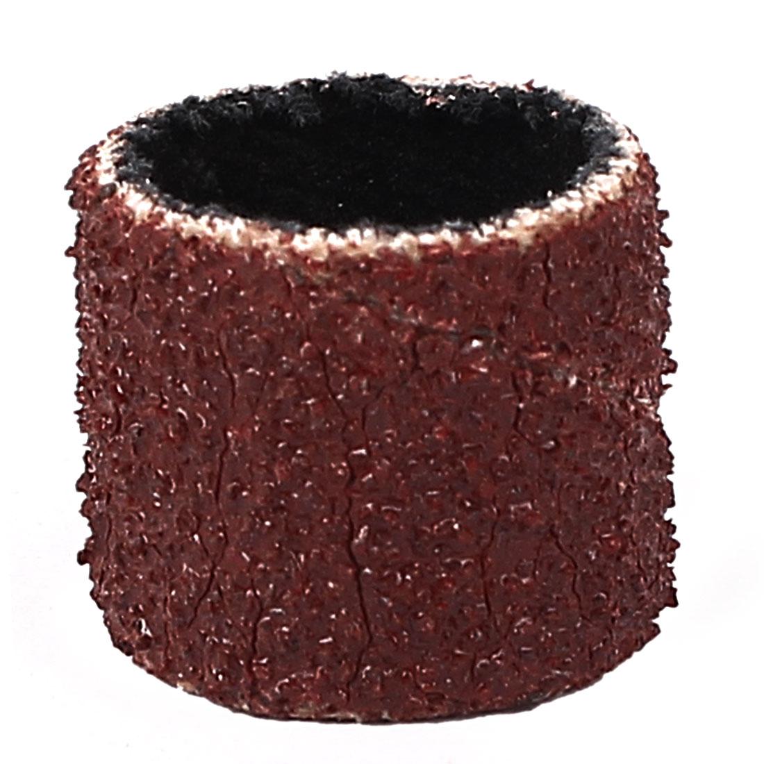 13mm Diameter 46 Grit Sanding Drums Abrasive Spiral Band Sleeves Rolls
