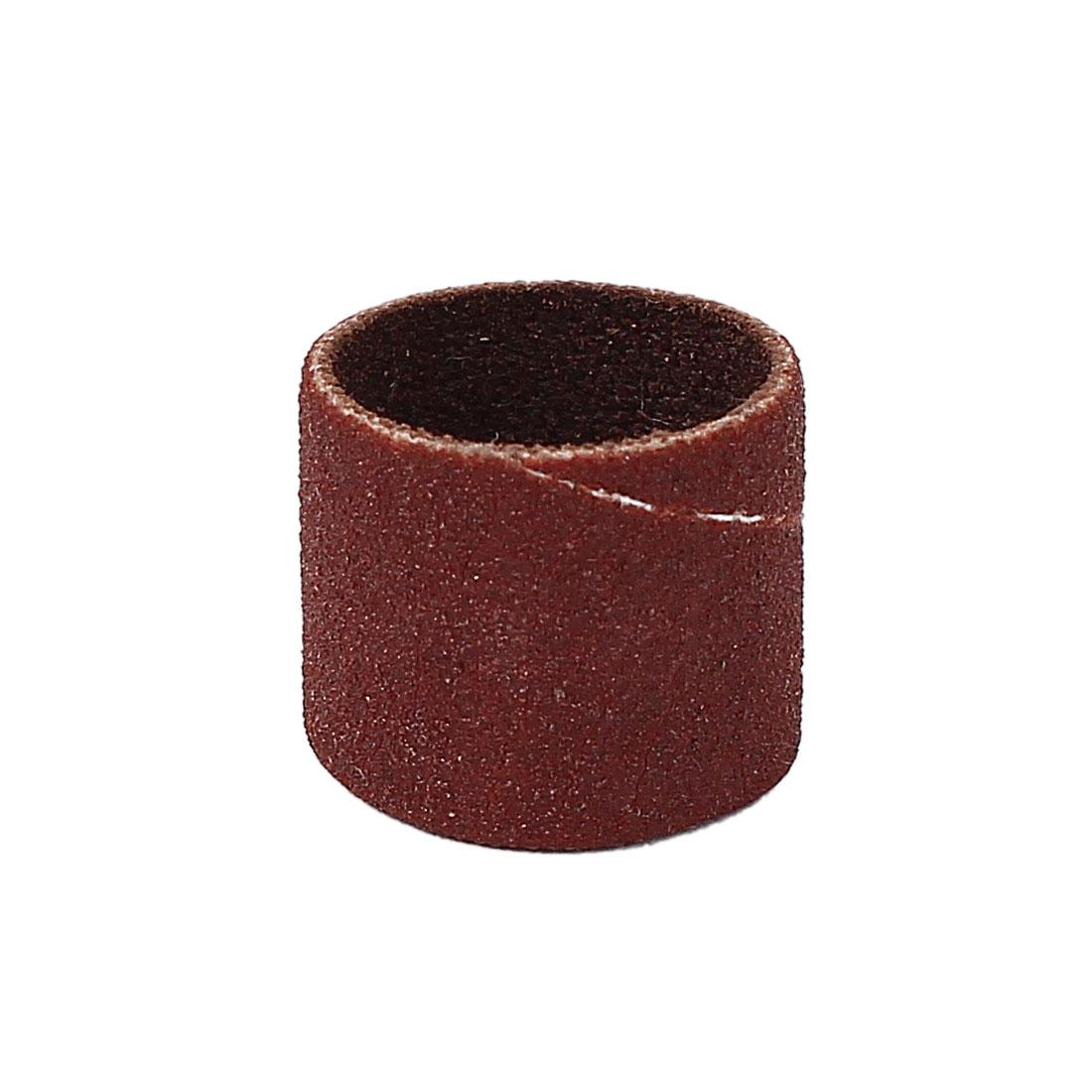 13mm Diameter 240 Grit Sanding Drums Abrasive Spiral Band Sleeves Rolls
