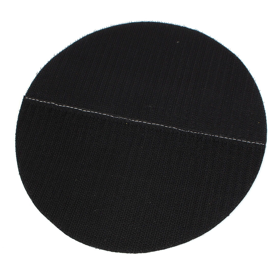 "7"" 180mm Diameter Round Hook and Loop Polishing Pad Mat Rotary Tool Black"