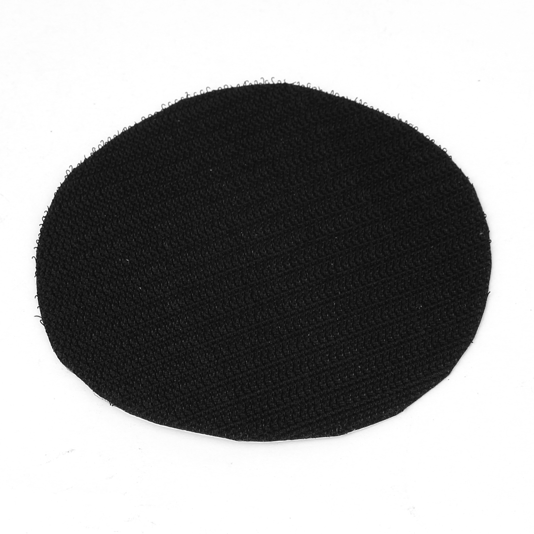 "4"" 100mm Diameter Round Velvet Polishing Pad Mat Rotary Tool Black"