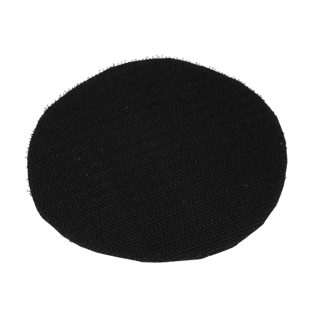 "6"" 150mm Diameter Round Velvet Sanding Polishing Pad Black"