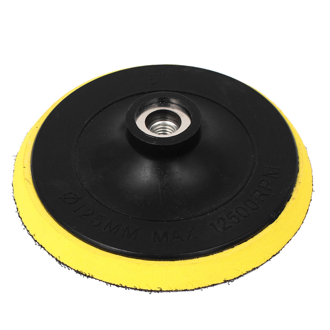 "5"" 125mm 12500 RPM Sanding Polishing Hook and Loop Fastener Backer Backing Pad Disc"