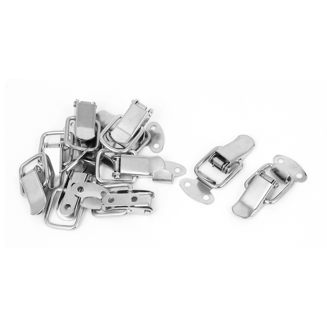 Drawer Toolbox Metal Spring Loaded Toggle Draw Latch Catch Hasp 10pcs