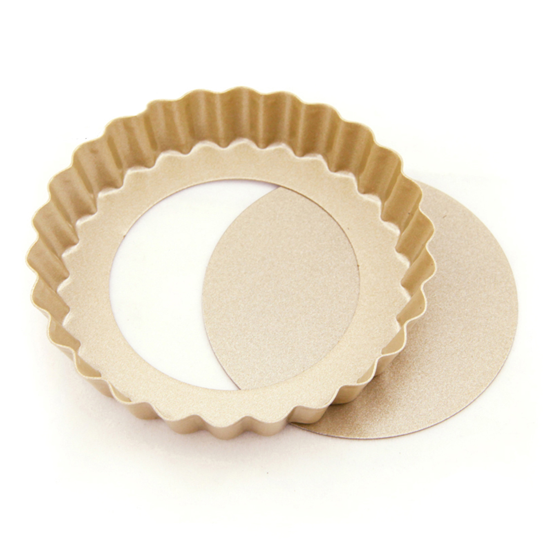 Cookie Cupcake Bread Round Shaped Wavy Edge Baking Mold Mould Bakeware Pan