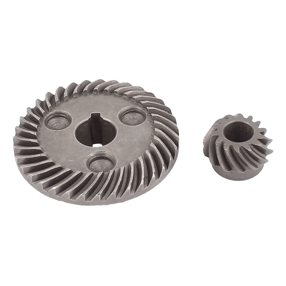 Replacement Metal Electric Angle Grinder Spiral Bevel Gear Set for Hitachi 100