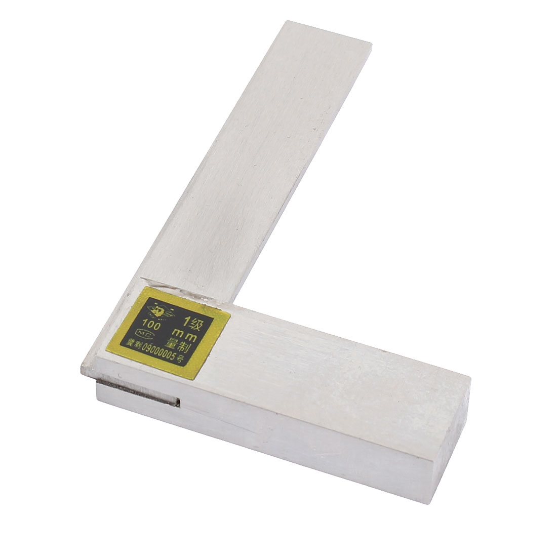 Metal 90 Degree Metric 100mm Scale Marks Try Square Measure Ruler Measuring Tool