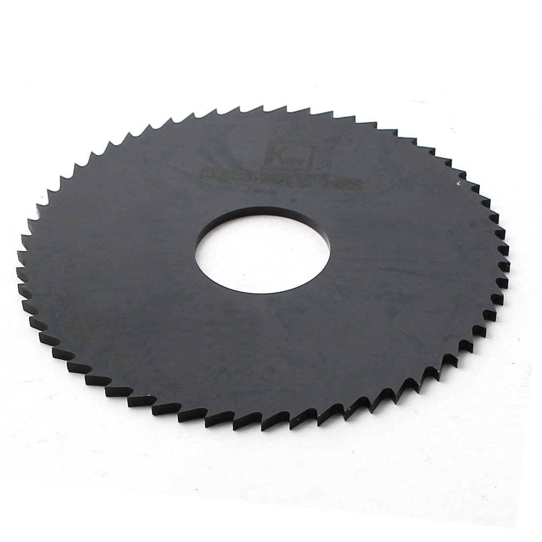 80mm Dia 2mm Thickness 60 Teeth Slitting Slotting Saw Cutter Cutting Tool Black