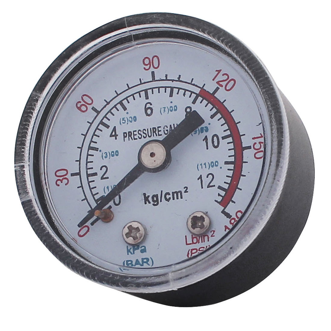 1/8BSP Male Thread 0-180PSI 1-11BAR Air Compressor Pressure Gauge