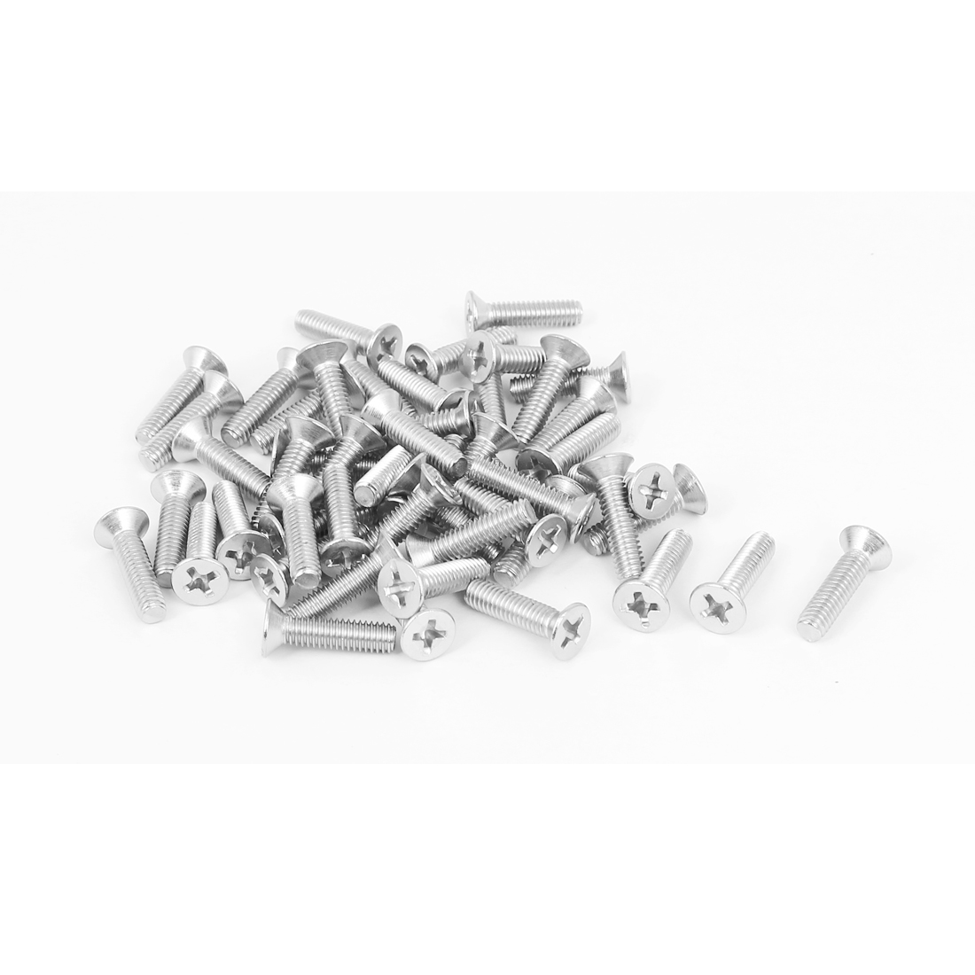M4x16mm Stainless Steel Phillips Flat Countersunk Head Screws 50pcs