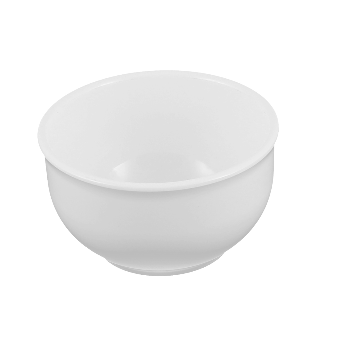 Restaurant Kitchen Plastic Round Rice Serving Bowl White