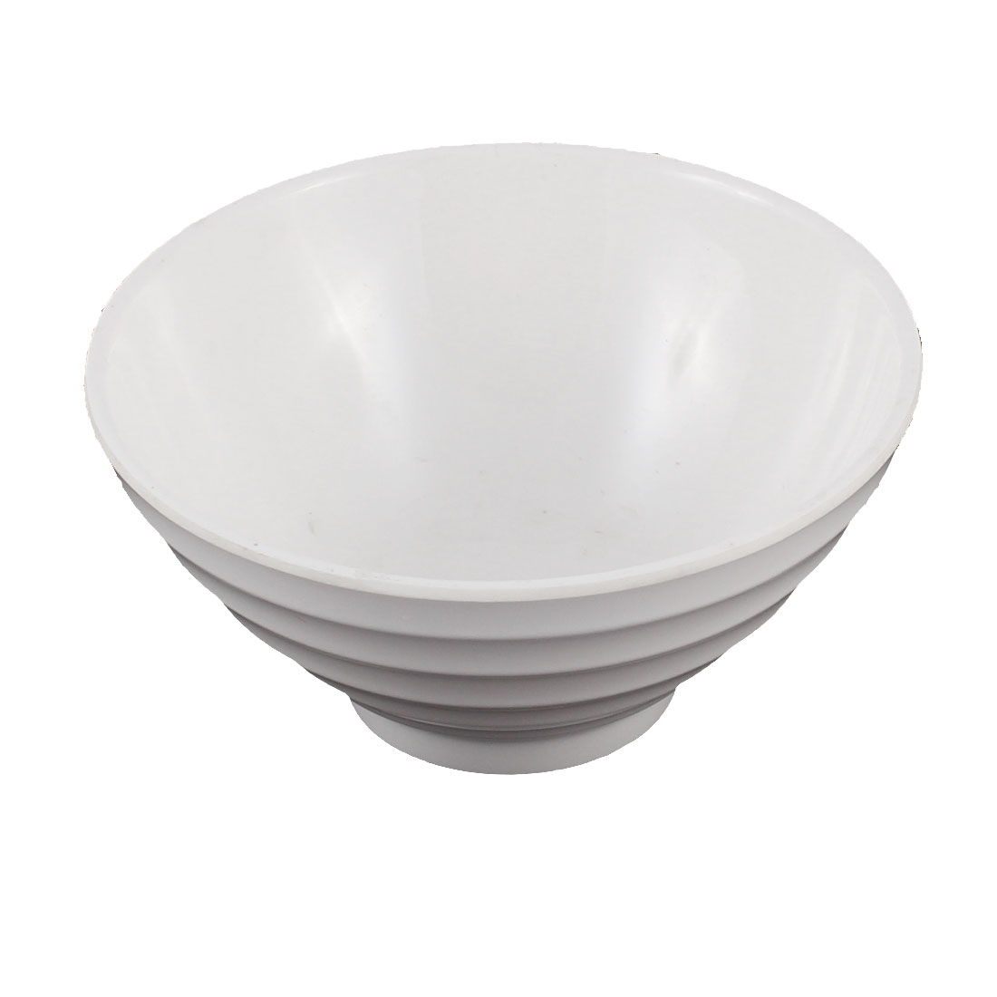 Tableware Plastic Round Shaped Food Rice Bowl White