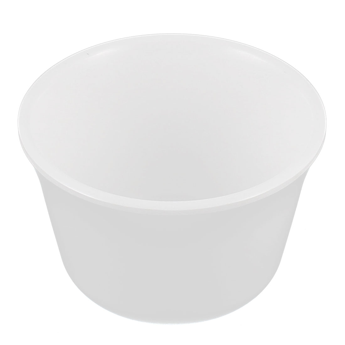 Home Restaurant Plastic Water Tea Drinking Cup White 8cm Dia