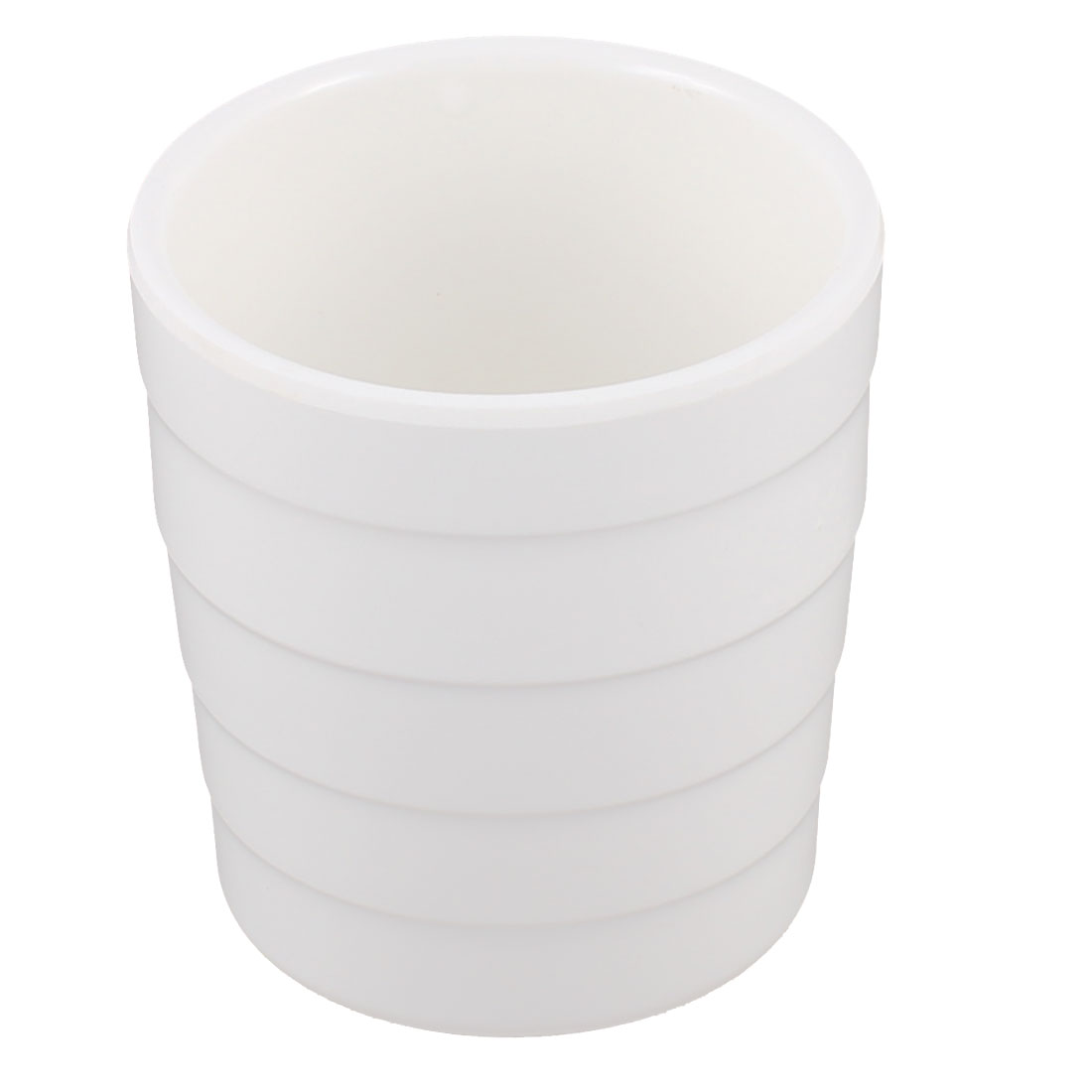 Home Plastic Water Beverage Drinking Cup Mug White