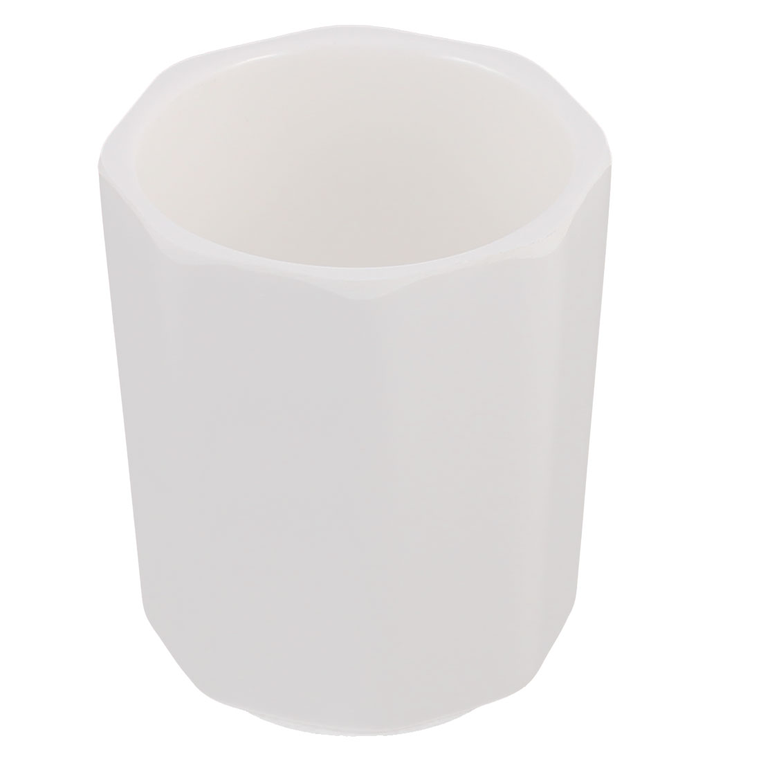 Restaurant Octagon Edge Water Beverage Drinking Cup White