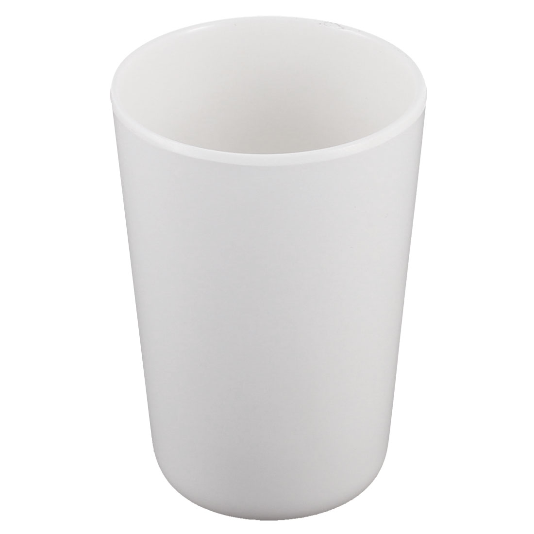 Kitchen Plastic Drinks Tumbler Water Drinking Cup White 11cm Height