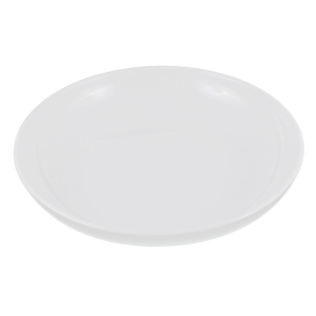 Kitchen Dinnerware Round Shape Dish Food Container Plate 25cm Dia