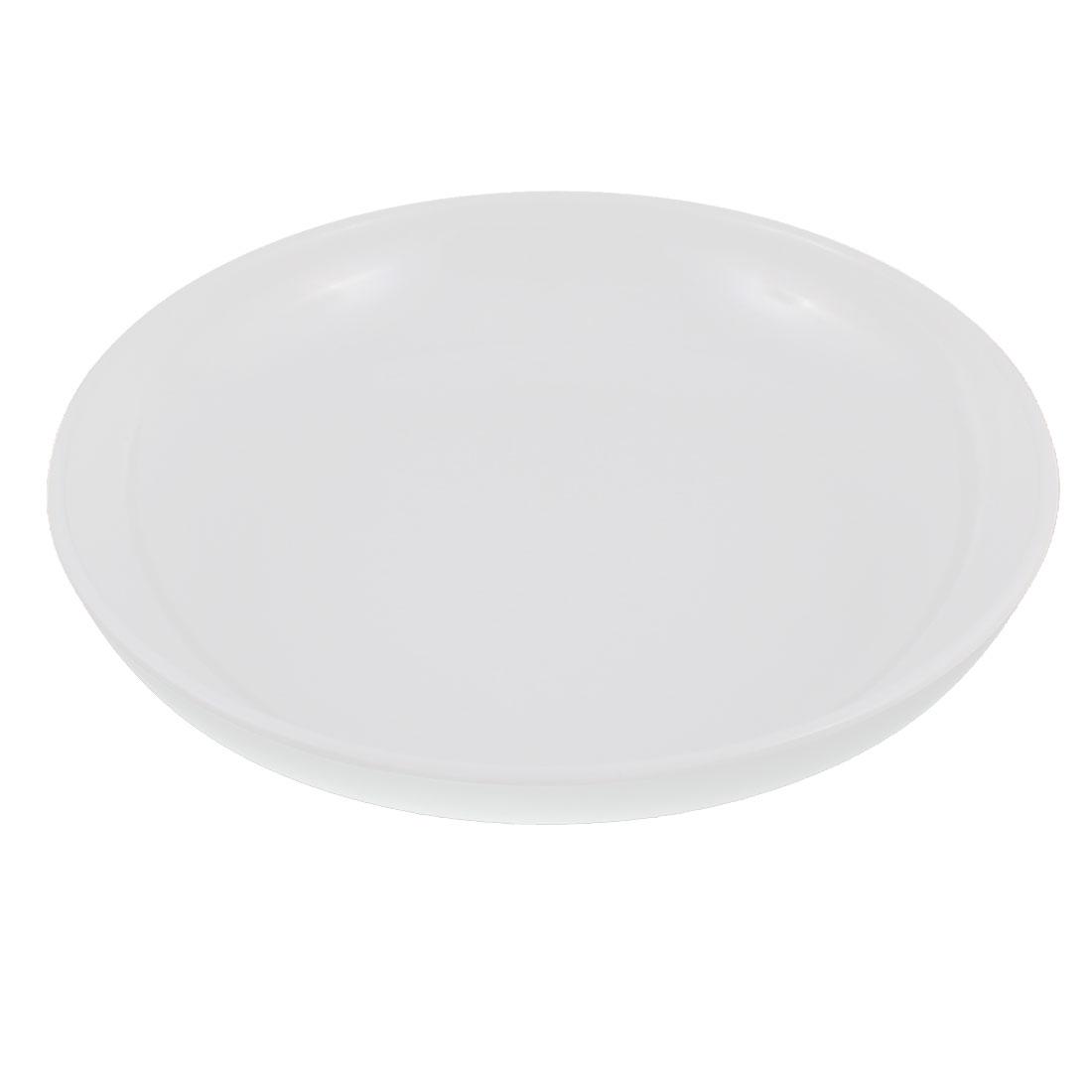 "Dinnerware Round Shape Dinner Dish Serving Plate White 8"" Dia"