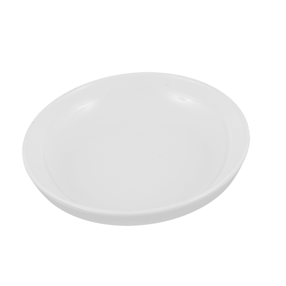 "Kitchen Round Shape Dessert Dinner Dish Plate White 6"" Dia"