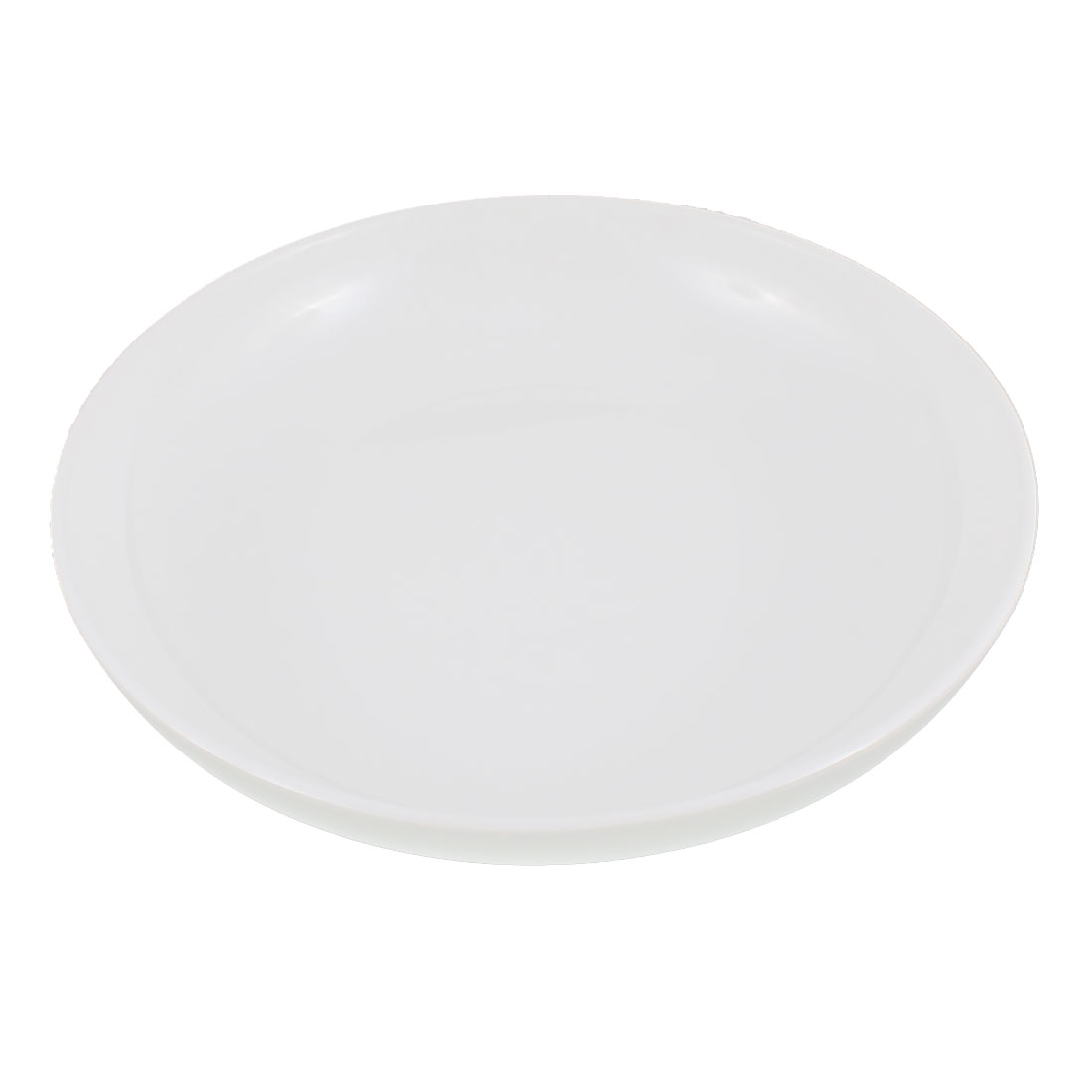 "Kitchenware Round Shape Salad Dish Plate White 9"" Dia"