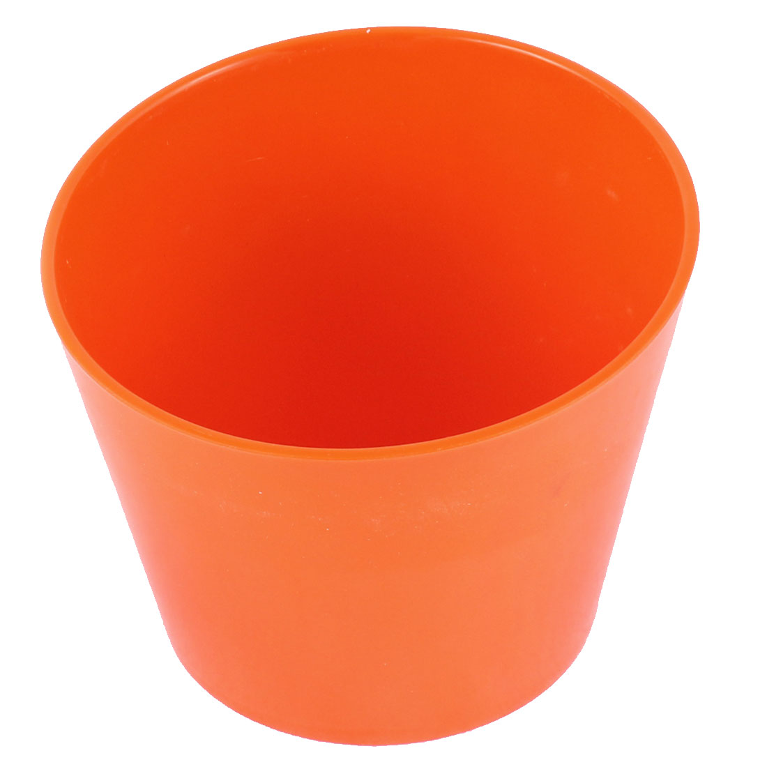 """Restaurant Soup Water Bowl Slant Cup Orange 5.5"""" Dia"""