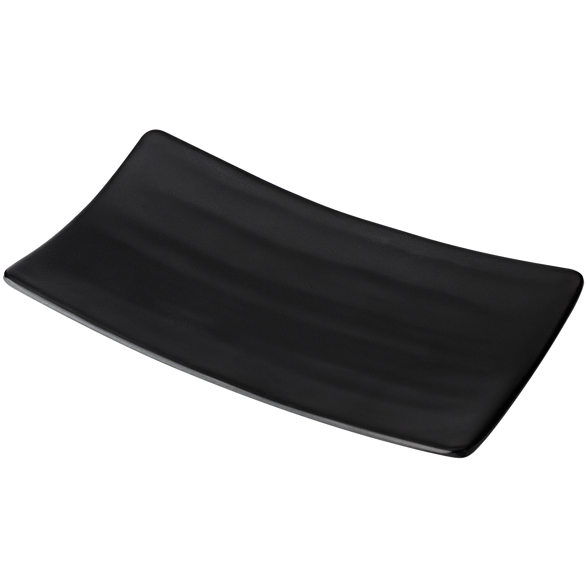 Dinnerware Rectangle Shaped Sushi Serving Dish Plate Black