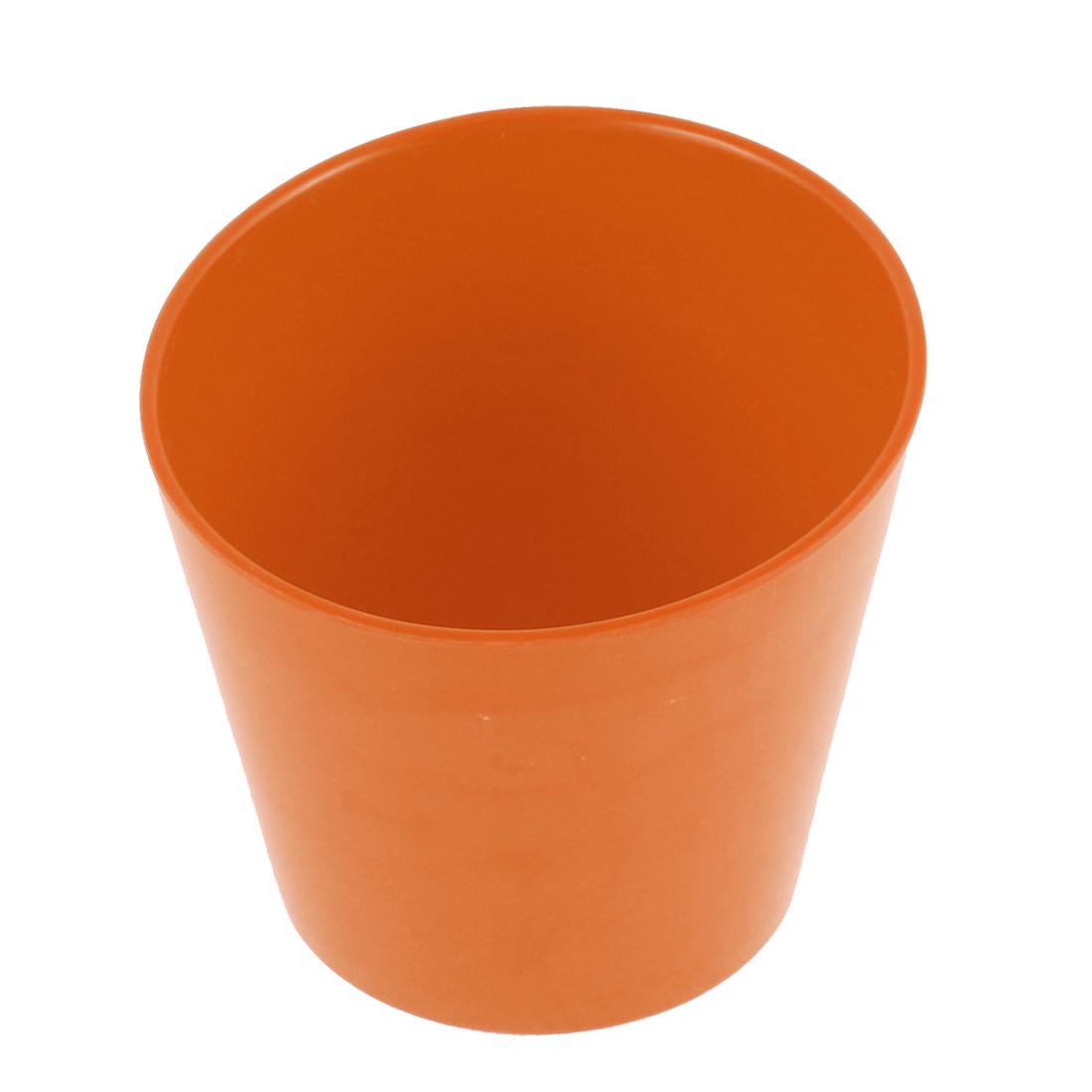 """Restaurant Dessert Soup Bowl Slant Cup Container Orange 4.5"""" Dia"""