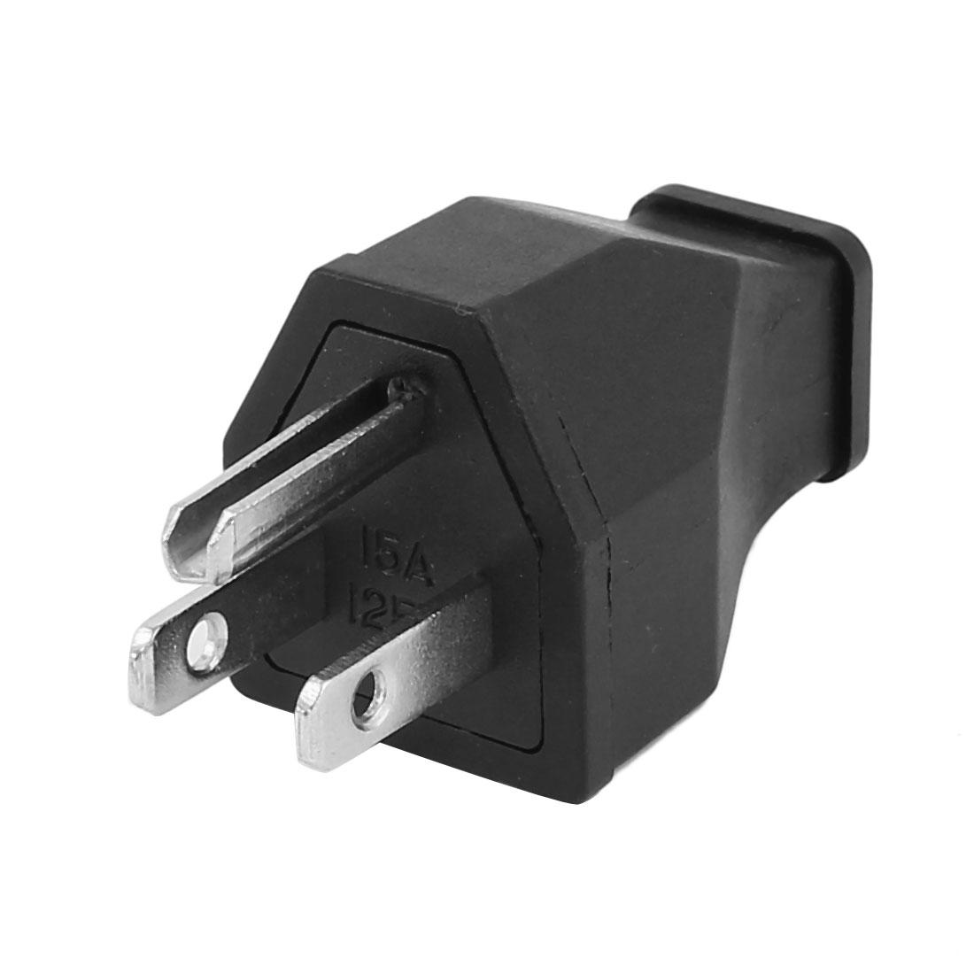 AC 125V US Plug Rewiring Universal Travel Power Socket Adaptor