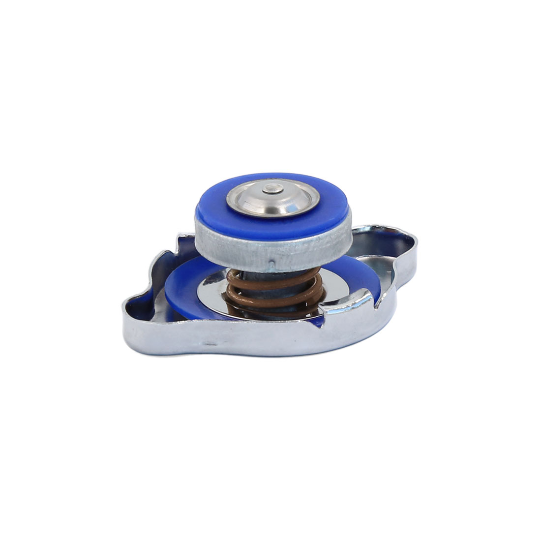 Car Metal Rubber Titanium Style Performance Radiator Cap Protector 1.1 Kg/cm2