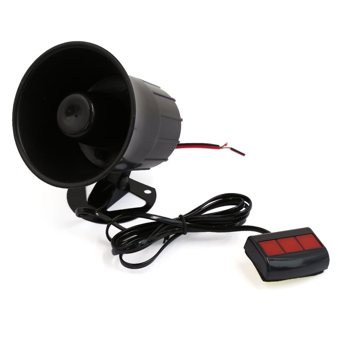 3 Sounds Tone Motorcycle Car Van Vehicle Loud Siren Security Horn DC 12V