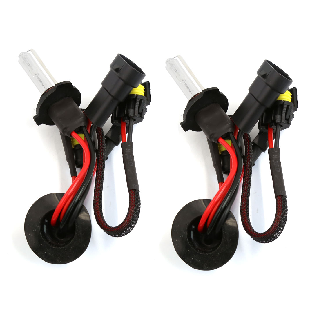 9005 HB3 Socket Xenon Gas HID Replacement Light Bulbs Headlight 6000K 2 Pcs