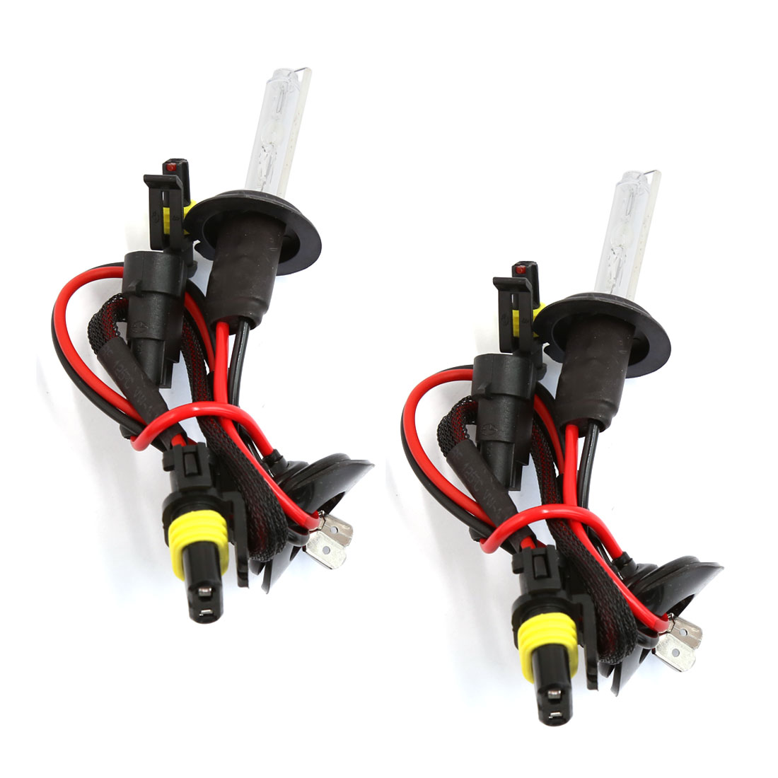 2 Pcs H7 6000K Xenon HID Light Lamp Bulb Headlight for Auto Car