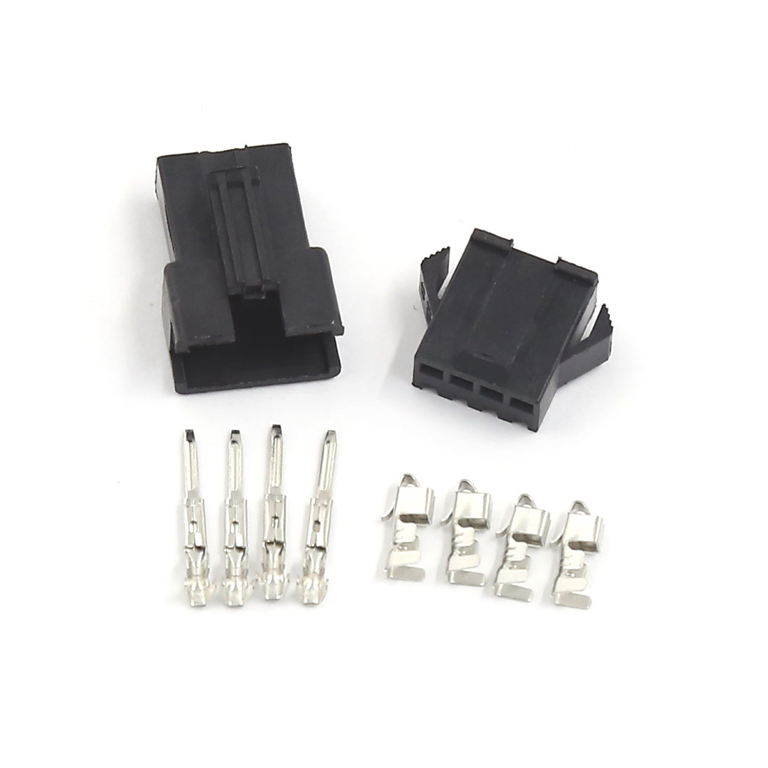 5 Sets 5 Pin Female Slot Power Supply PCB Board Car ATX Connector