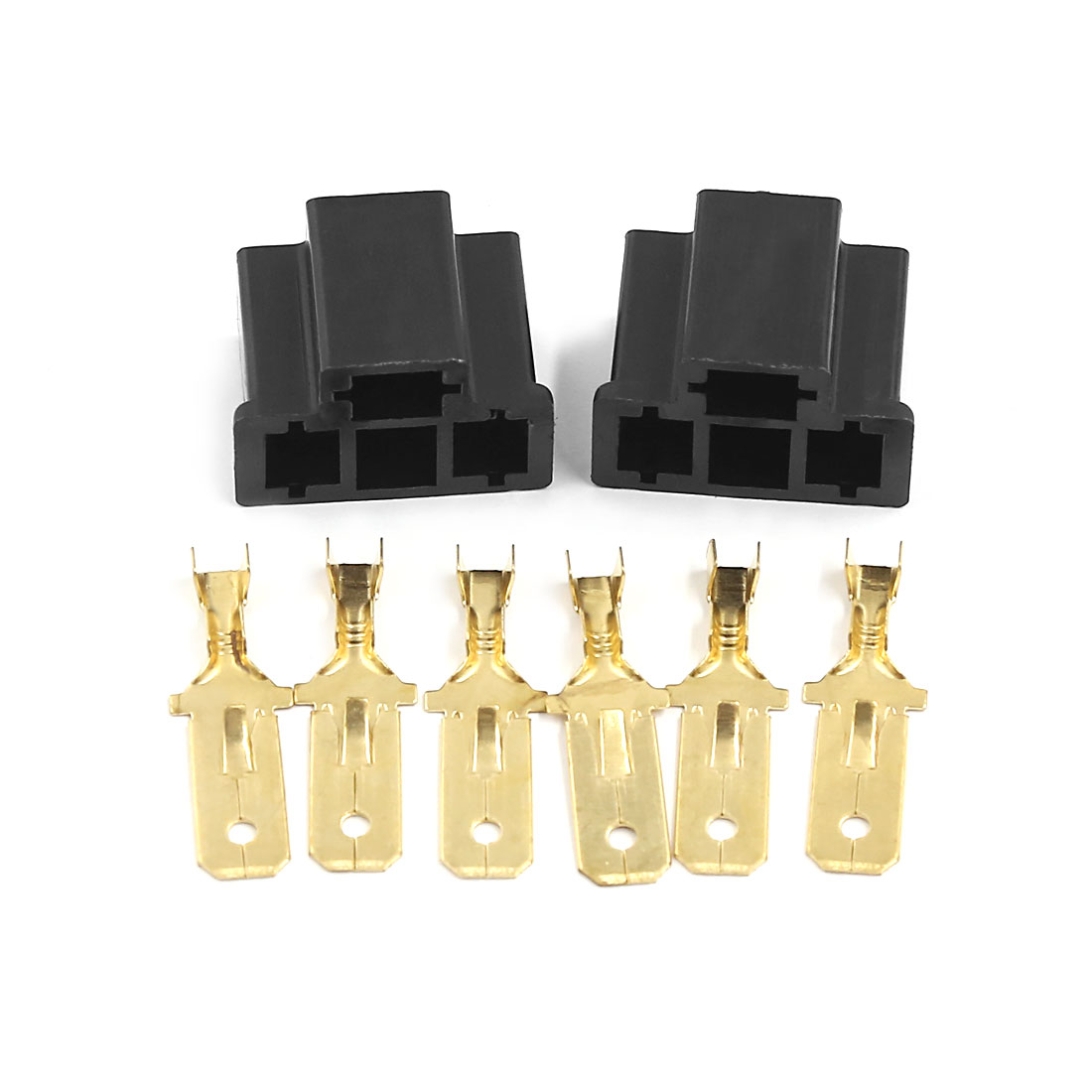 2 Sets Car Socket Xenon Light Bulb Truck Connector for H4/9003/HB2