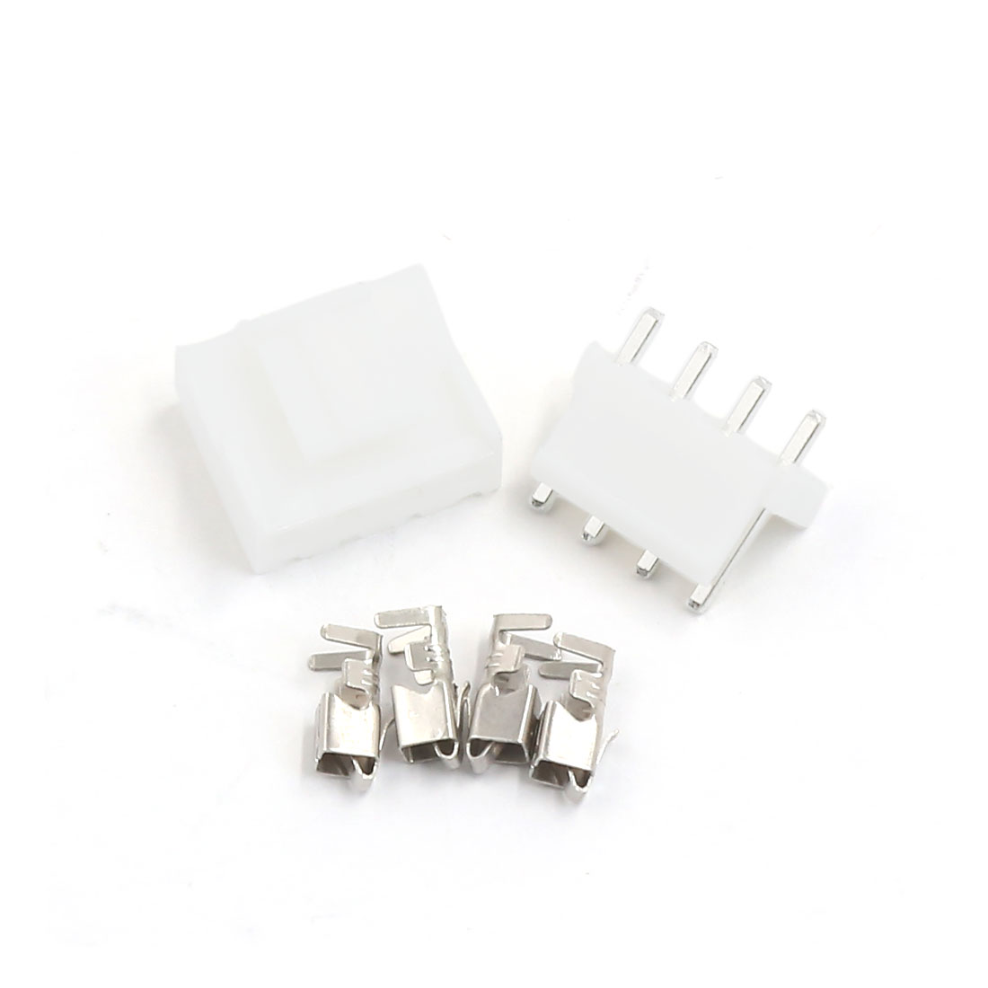 5 Sets 4 Pins VH3.96 Connector 3.96mm Pin Terminal Needle Seat