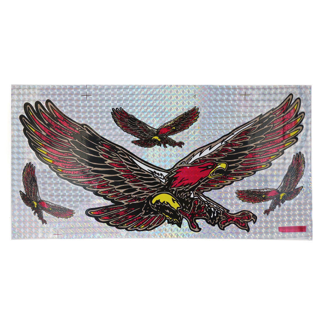 Four Flying Eagle Printing Self Adhesive Car Exterior Decorative Sticker Adorn