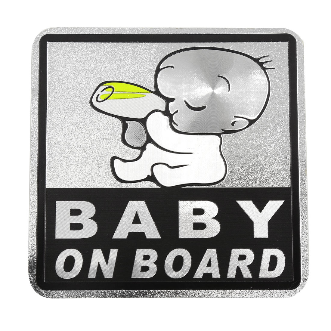 Self Adhesive Safety Sign Baby On Road Warning Sticker Decal for Car Auto