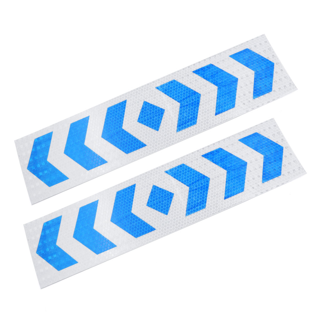 Car Exterior Decor Arrows Printed Reflective Sticker Adhesive Decal Strip 2pcs