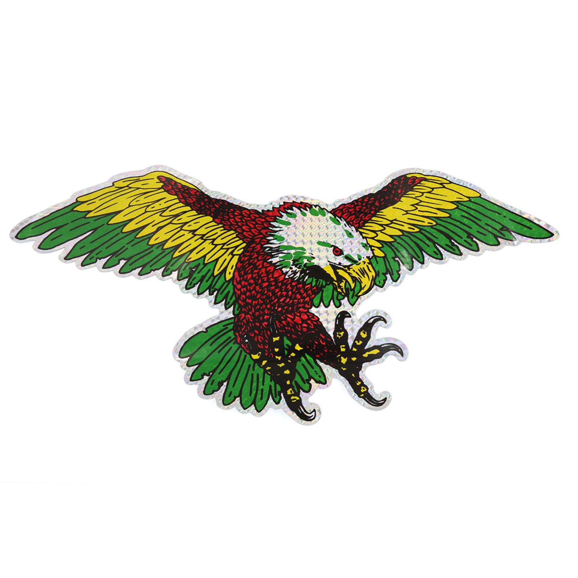 2D Flying Eagle Design Car Window Decal Stick-on Sticker Adorn 44cm x 21.5cm