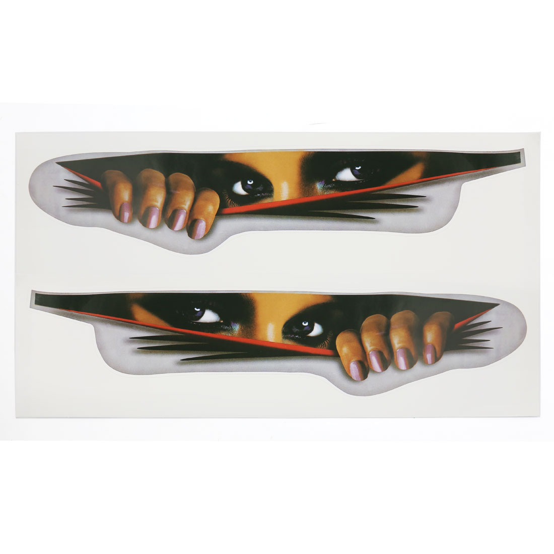 Beauty Eyes Design 2D Style Vinyl Sticker Decor Car Graphic Decal Exterior Adorn