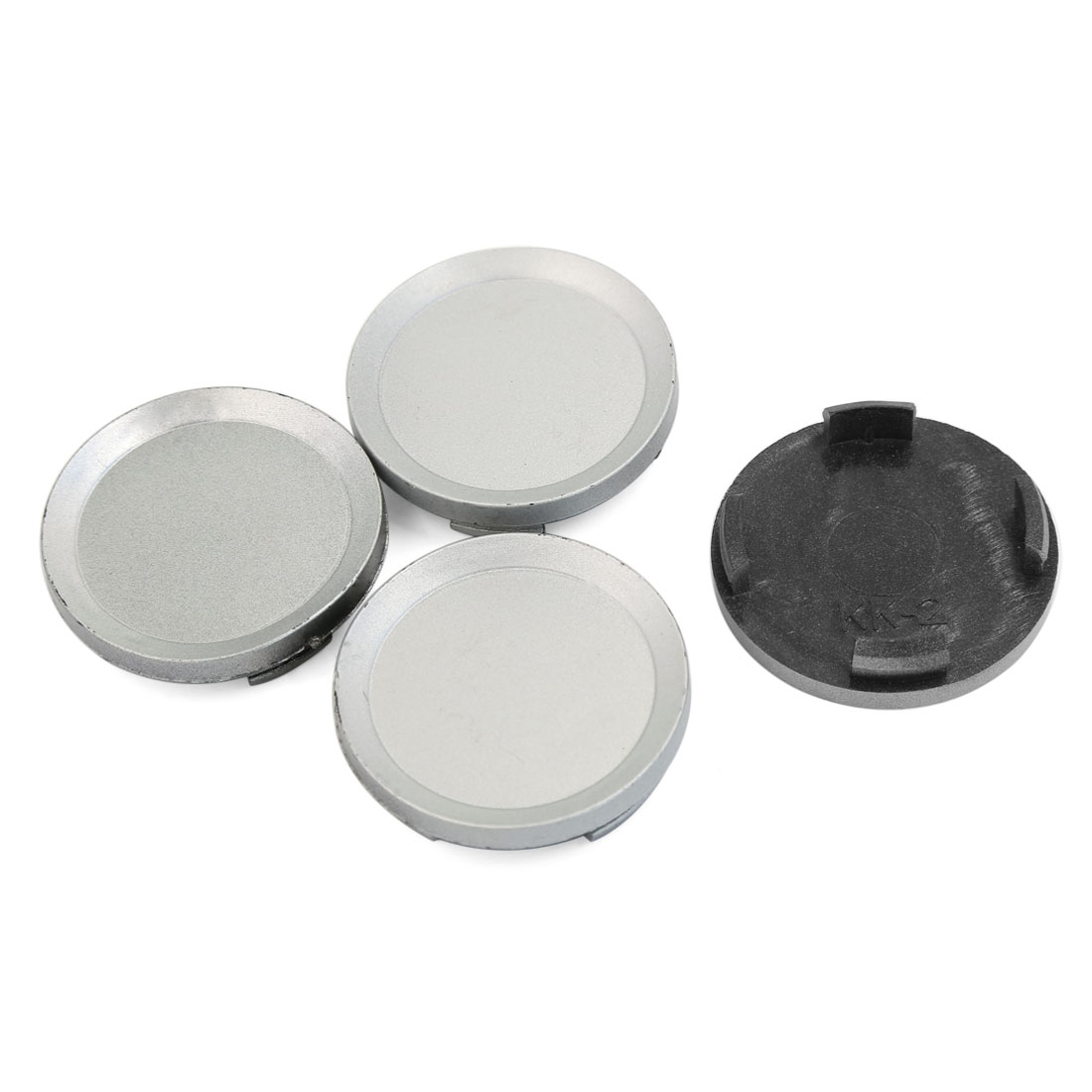 4 Pcs ABS Plastic 60mm Dia Vehicle Car Wheel Rim Center Hub Caps Cover