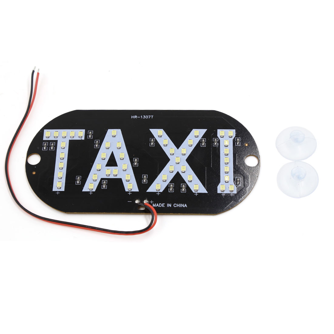 Auto Car Windshield Windscreen Cab Sign White SMD 45 LED Taxi Light Lamp DC 12V